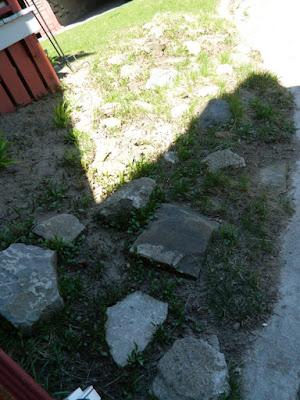 New Toronto Forest Hill  rock garden before Paul Jung Gardening Services