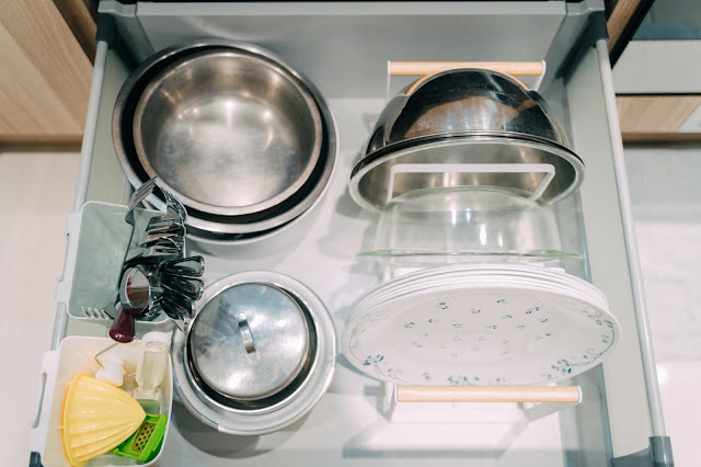 tosca三格盤架L 山崎Yamazaki 廚房收納 盤子更好拿取