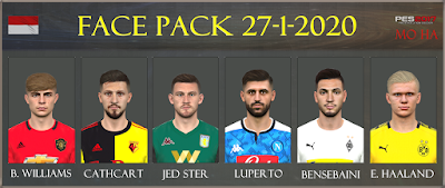PES 2017 Facepack 27-1-2020 by Mo Ha