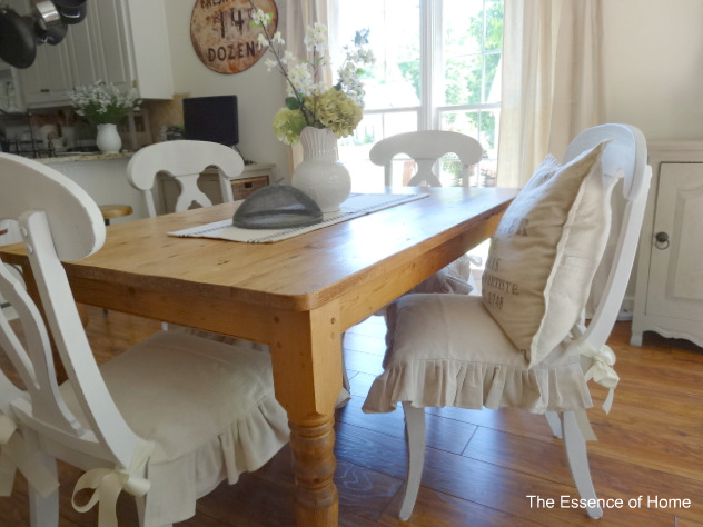The Essence Of Home Ruffled Chair Covers