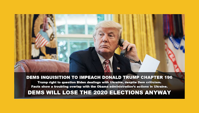 Memes: DEMS INQUISITION TO IMPEACH DONALD TRUMP CHAPTER 196