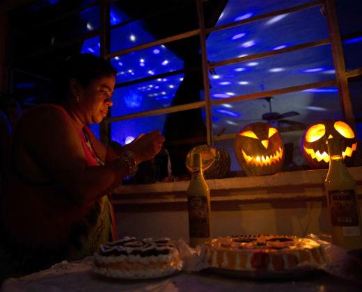 La fiestas de Halloween se ponen de moda en Cuba