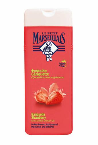 Le Petit Marseillais Gel de dus cu aroma de Capsuni, 400 ml