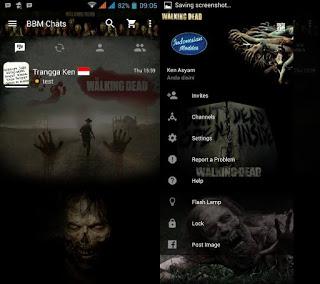 BBM The Walking Dead Terbaru v3.2.0.6 Apk