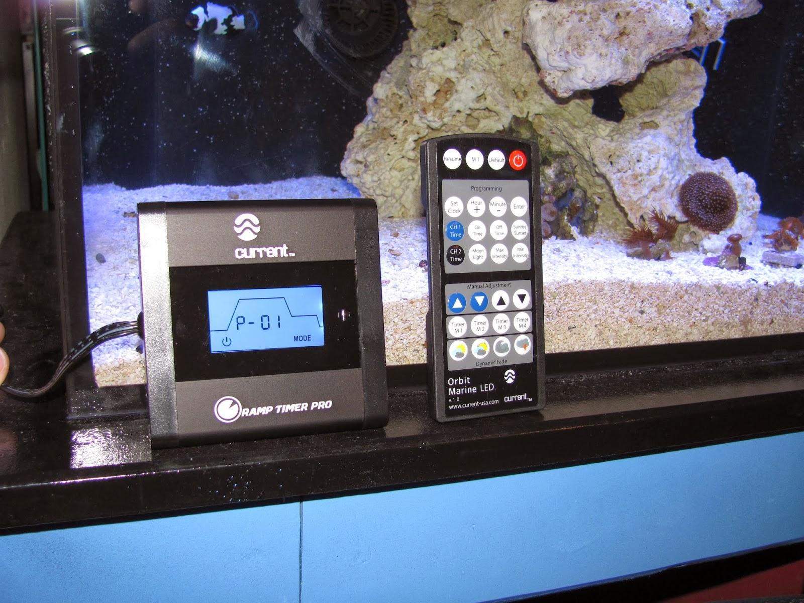 First Impressions Current Usa Orbit Marine Led Aquarium Light