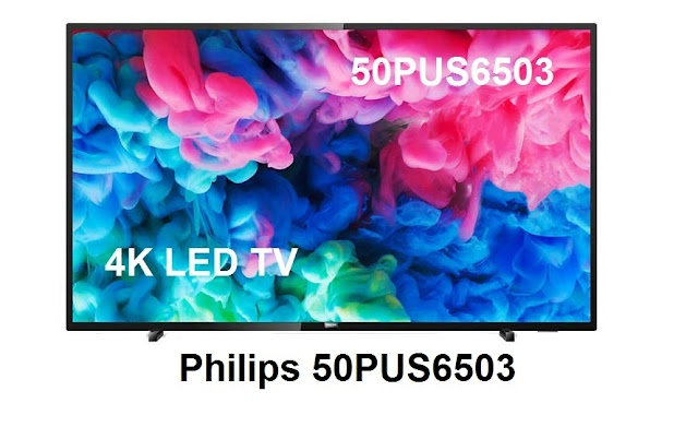 Philips 50PUS6503 - 50 Inch 4K Ultra HD HDR WiFi Smart LED TV
