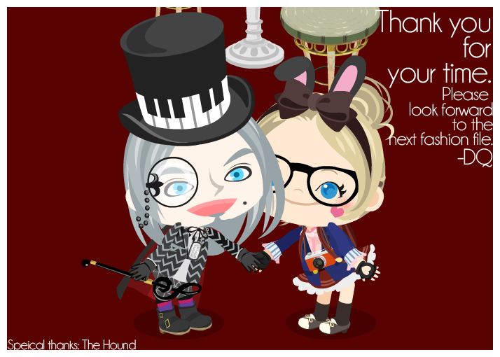 Thank you! | LADY DQ