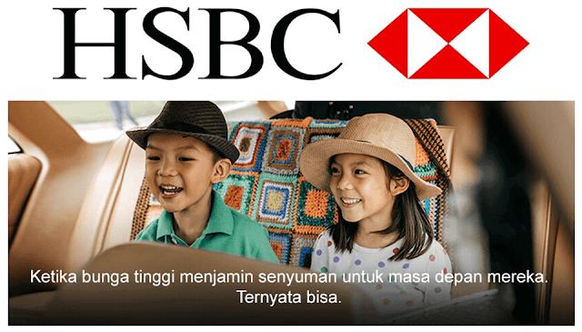 HSBC Beri Total Return Deposito Untuk Masa Depan Anak