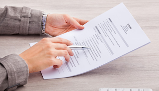 Resume writing service man