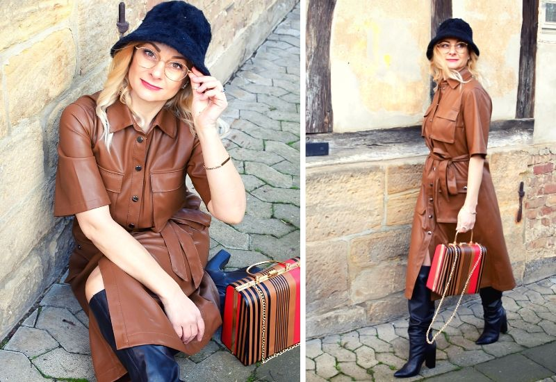 lederkleid-braun-outfit