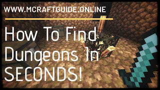 How To Find Dungeons In SECONDS! : My Personal Method