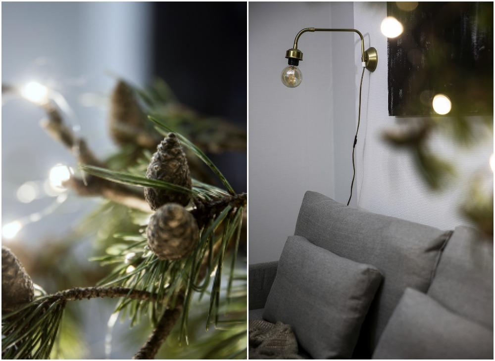 livingspace, sisustus, sisustaminen, olohuone, livingroom, scandinavian design, HT Collection, sohva, couch, linen, flax, pellava, pellavasohva, pellavapäällinen, suomalainen, kotimainen, Visualaddict, valokuvaaja, Frida Steiner, koti, samettityynyt, Svanefors, kulta, messinki, havut