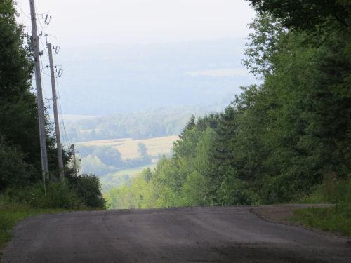 Dunn Road hill