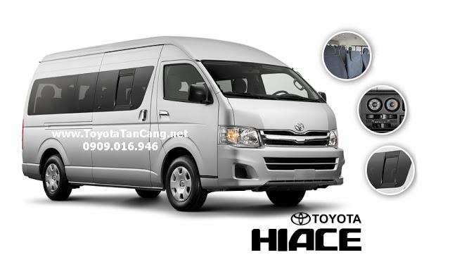 """Nissan NV350 Urvan và Toyota Hiace 2015 : """"Made in Japan"""" đối đầu nhau tại Việt Nam"""