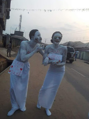 UNIPORT Students Turn Romeo & Juliet For Valentine (See Photos)