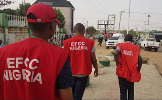 EFCC Published The Number Of 'Yahoo Boys' That Were Arrested In October Alone (See How Many)