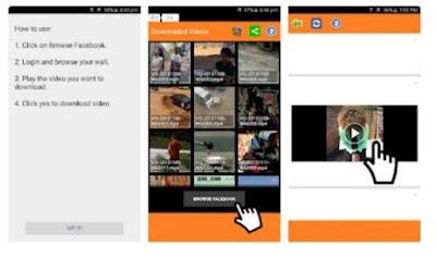 Download Video di Facebook dengan Aplikasi Video Downloader for Facebook