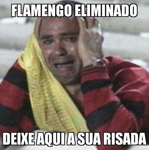 Imangens para WhatsApp zuando o Flamengo
