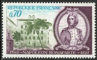 France 1969 Napoleon As a Young Officer And Birthplace, Ajaccio
