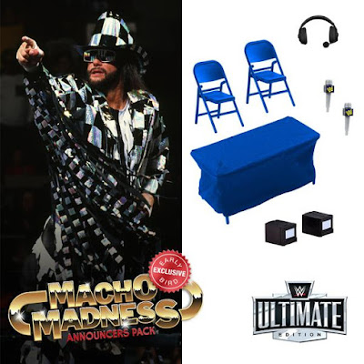 WWE Ultimate Edition New Generation Arena Crowdfunded Set by Mattel Creations