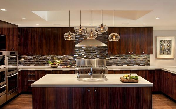 ide menarik desain keramik dinding dapur rancangan
