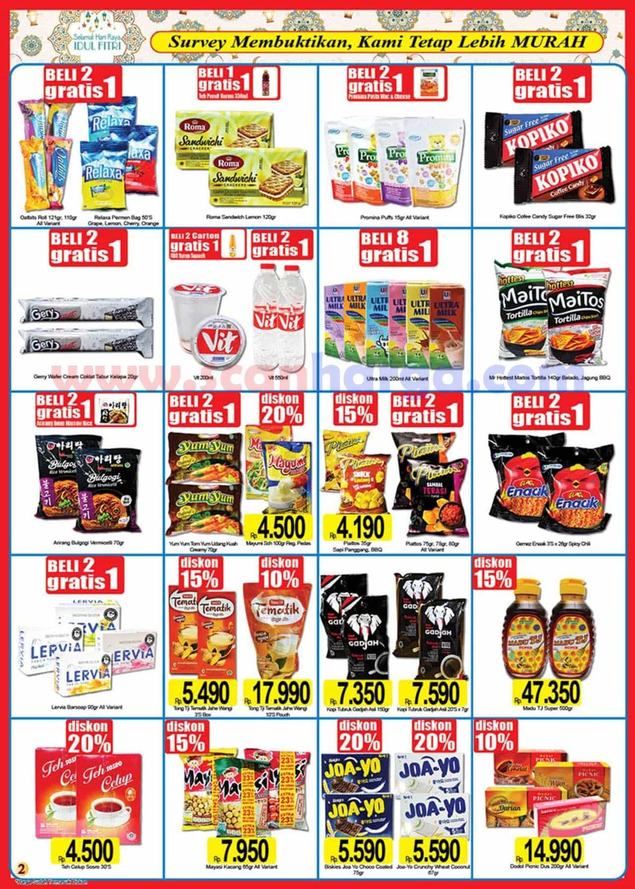 Katalog Promo Naga Pasar Swalayan 25 April - 16 Mei 2021 2