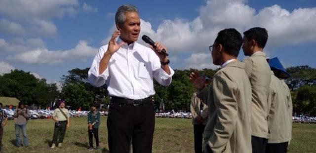 Ganjar Pranowo: KPAI Turun Cegah Pelajar Demo, Jangan Mengurusi Badminton Saja