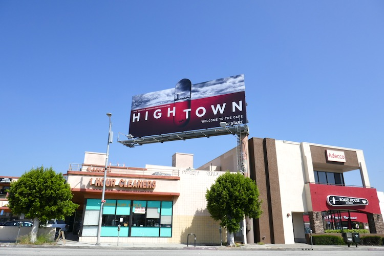 Hightown Starz series billboard