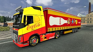 Coca Cola Volvo skin and trailer updated