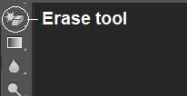 erase tool photoshop