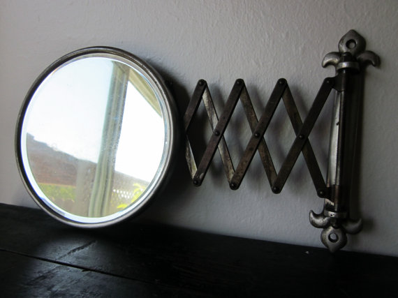 Pure Style Home: Vintage Shaving Mirror