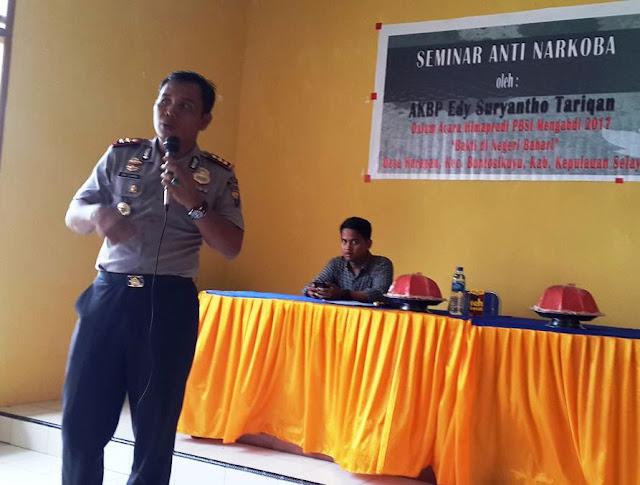 Seminar Anti Narkoba ,Di Bontosikuyu