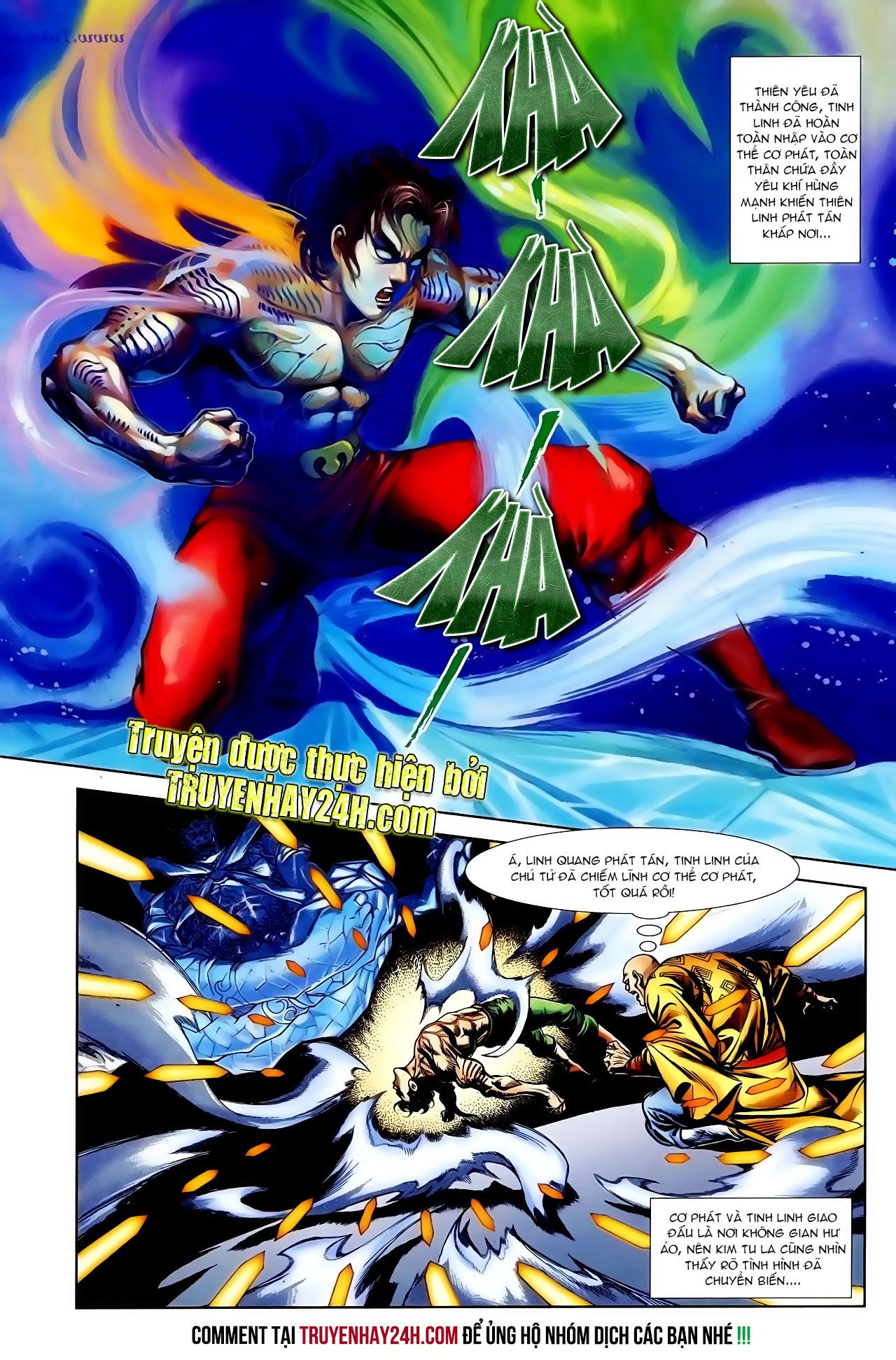 Cơ Phát Khai Chu Bản chapter 100 trang 10