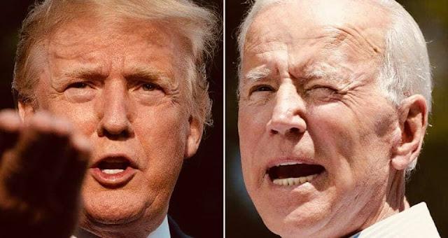 جو بايدن : ترامب يستخدم الجيش الأمريكي ضد الشعب الأمريكي✍️👇👇👇