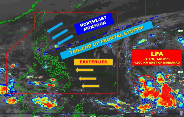 LPA, 3 weather systems PAGASA update November 29, 2020