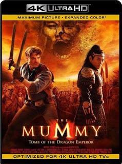 La momia: la tumba del emperador Dragón (2008) 4K UHD [HDR] Latino [GoogleDrive] SilvestreHD