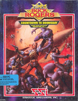 Portada Videojuego Buck Rogers Countdown to Doomsday - PC