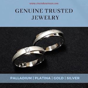 cincin kawin palladium couple 464
