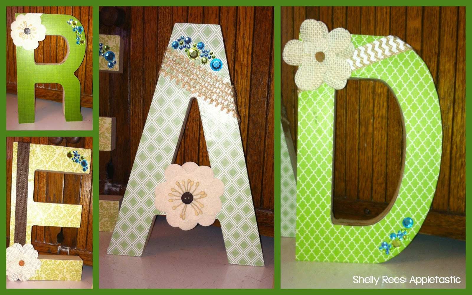 mod podge pictures on wood letters mod podge wooden letters for your classroom diy 23676 | 2015 05 256