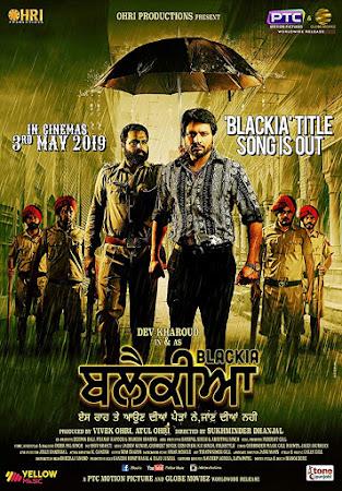 Poster Of Punjabi Movie Blackia 2019 Full HD Movie Free Download 720P Watch Online