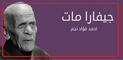 """ناصر صلاح يكتب: روح الشعر """"جيفارا مات"""".. وأحمد فؤاد نجم"""