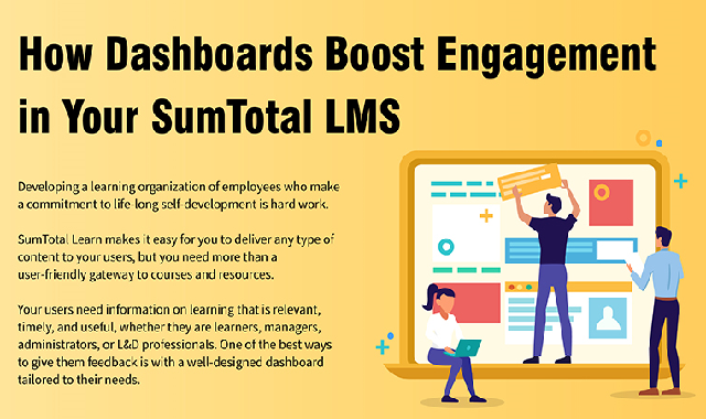 How Dashboards Boost Engagement in Your SumTotal LMS #infographic