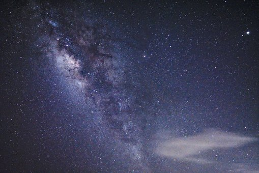 Galaksi Andromeda atau Bima Sakti