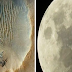"Incredible: Cities On The Other Side Of The Moon. It Was Taken On NASA's 25th Secret Mission To The Moon Named ""Syn 25"""