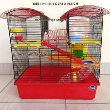 Kandang hamster Jeruji Besi