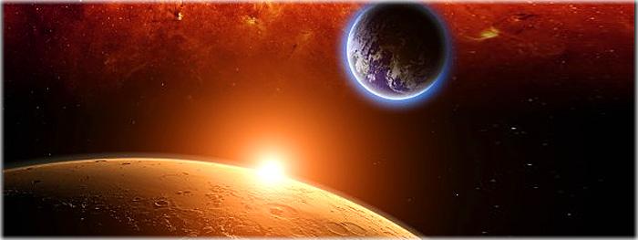 Terra perde contato com sondas em Marte - alinhamento