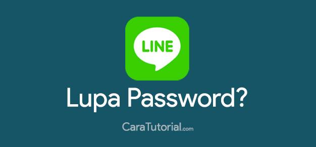 Mengatasi Lupa Password LINE Messenger (Tidak bisa Login)
