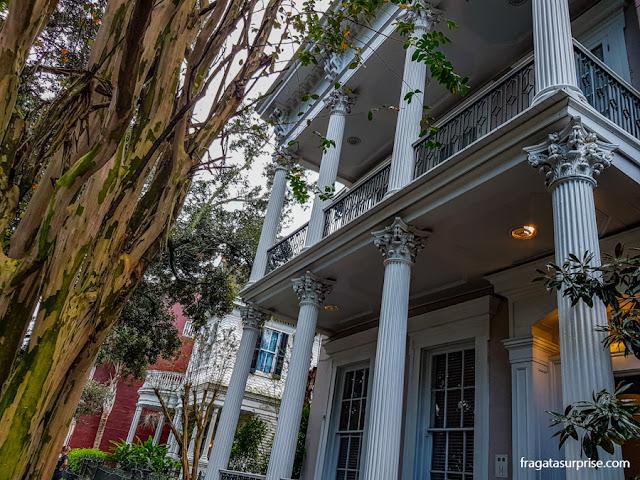 Nova Orleans, Casarão histórico no Faubourg Marigny