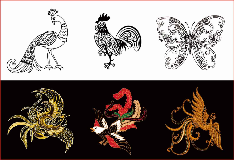 Ragam Hias Flora dan Fauna, Geometris, Figuratif, Beserta Contoh ...