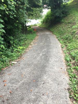 遺恨の坂道